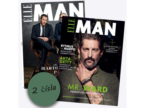 Roční předplatné Elle Man na 2 výtisky